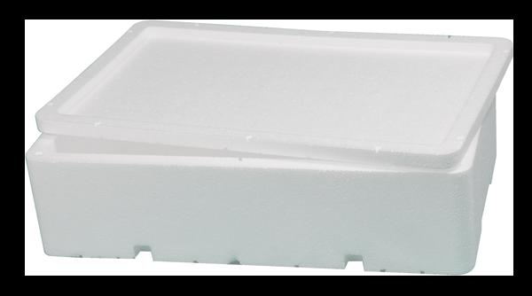 imballaggio alimentare cassetta pesce con foro icss packaging