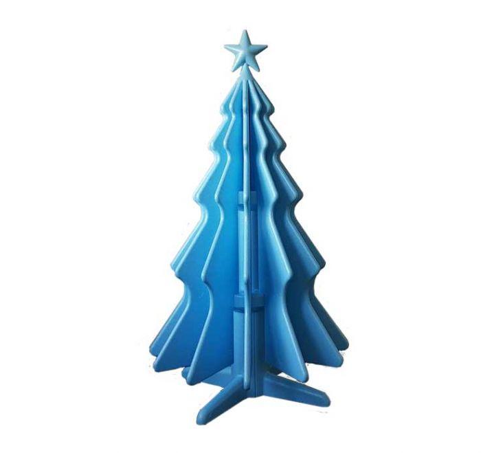 natty albero di natale in polistirolo icss packaging azzurro