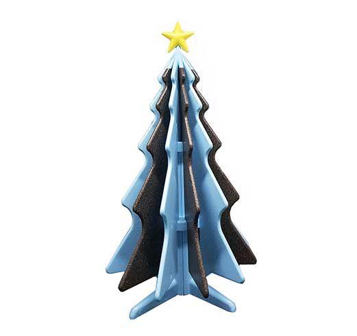 natty albero di natale in polistirolo icss packaging multicolore nero azzurro
