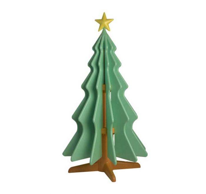natty albero di natale in polistirolo icss packaging verde