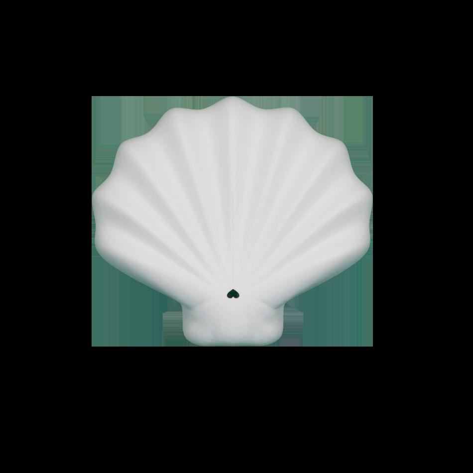 shelly packaging alimentari conchiglia bianca