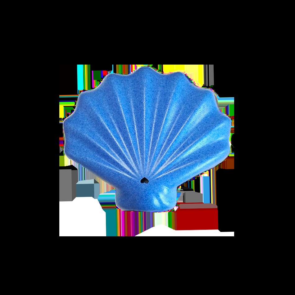 shelly packaging alimentari conchiglia blu